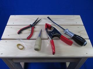 竹光カスタム・柄糸の巻き直し編/道具・薬練(くすね)・経木を使った金具調整等・・・